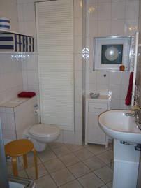 Dusche, WC, Waschbecken............
