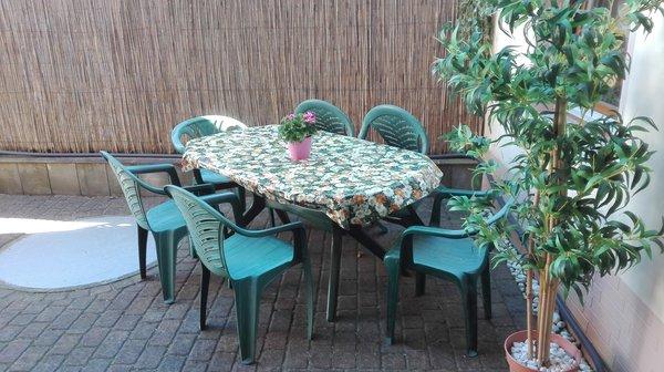 Die Terrasse, kleine Sitzecke