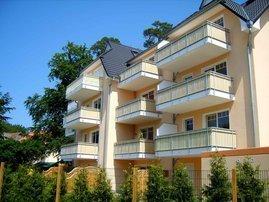 Rückansicht Balkone Buchenkampweg 11