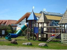 Spielplatz in der Ferienanlage
