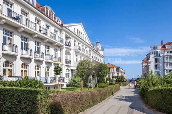 Blick vom Haus richtung Strand