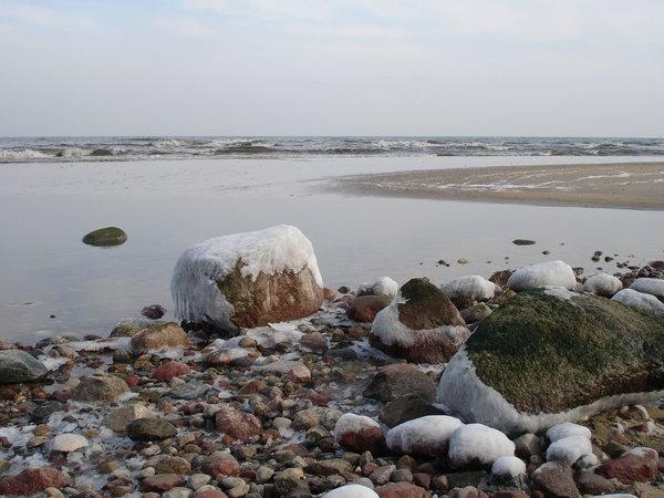 Auch im Winter ist die Ostsee schön!