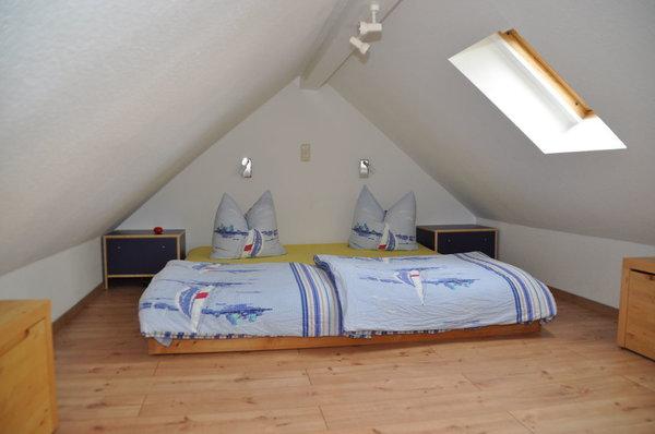 2. Schlafzimmer auf dem Dachboden