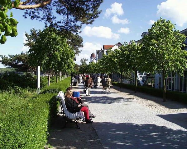 lange Strand-Promenade