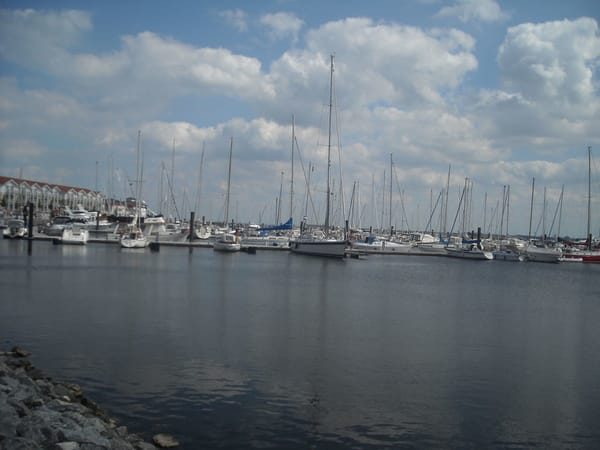 Der Yachthafen der sich in der Nähe befindet, wird immer sehr gerne besucht. Hier kann man lange Spaziergänge genießen direkt am Wasser.
