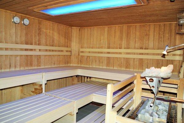 Saunabereich - Nutzung im Preis inbegriffen