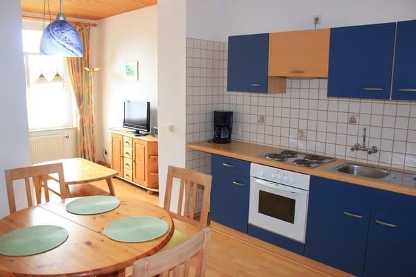 Küche und Eßplatz