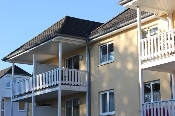 Ansicht Balkon der Wohnung