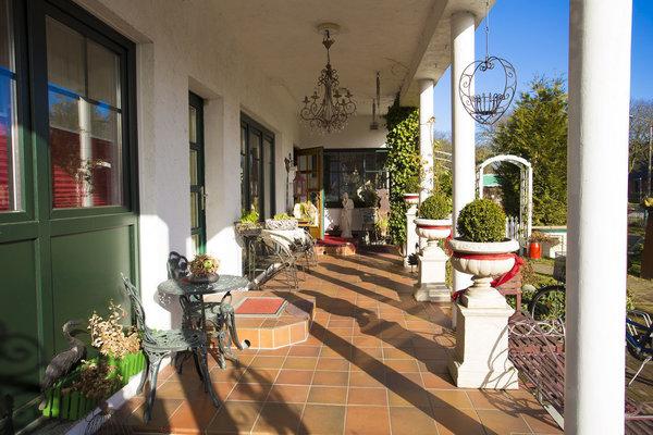 Terrasse, Apartman und Zimmer 1