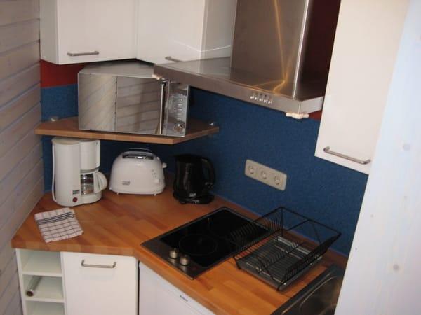 Küche im Leuchtturm