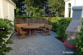 - Grillplatz der Villa Waldschloss -