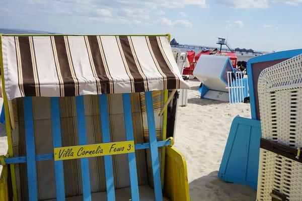 3 Gehminuten zu Ihrem Strandkorb am schönen Ostseestrand