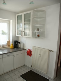 Küche aus einem anderen Blickwinkel