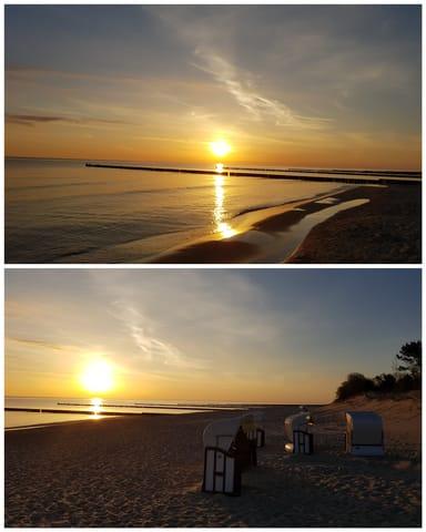 Sonnenaufgang in Zempin