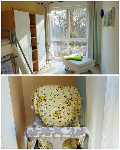 Kinderzimmer mit Babystuhl