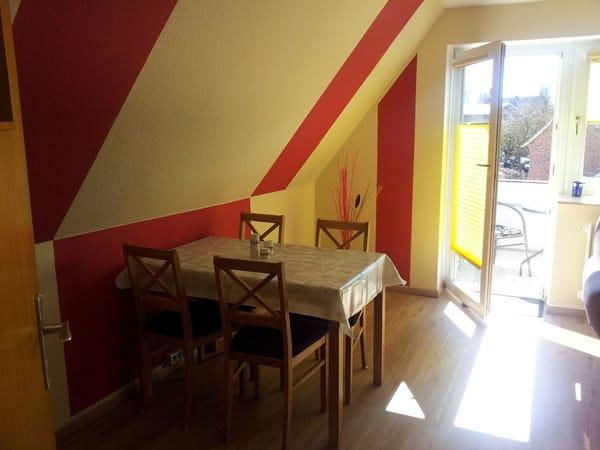 Essbereich Wohnzimmer
