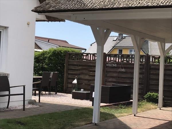 Stellplatz und eigener Gartenbereich für das OG