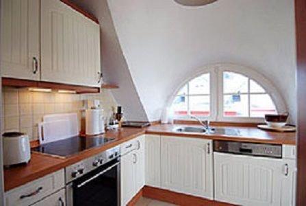 Die Küche mit allem Komfort., Spülmaschine, Cerankochfeld und Kaffeevollautomat
