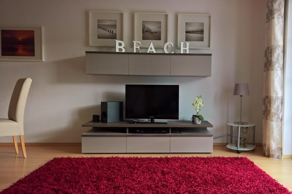 LCD-TV mit CD/DVD-Anlage
