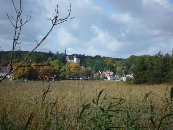 Blick nach Ralswieck - Störtebekker Festspiele
