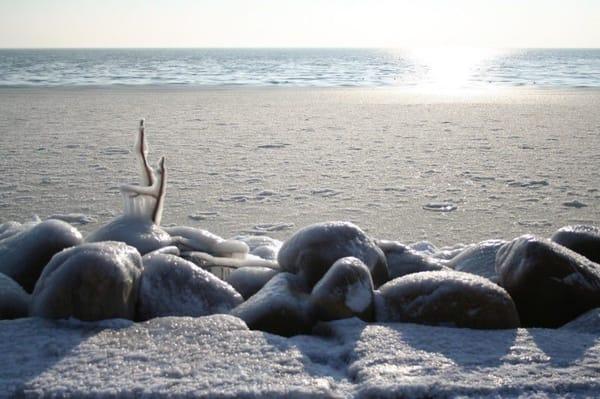 Eiszeit an der Ostsee