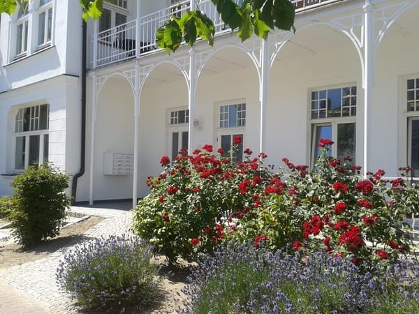 Eingang Villa 'Metropol'