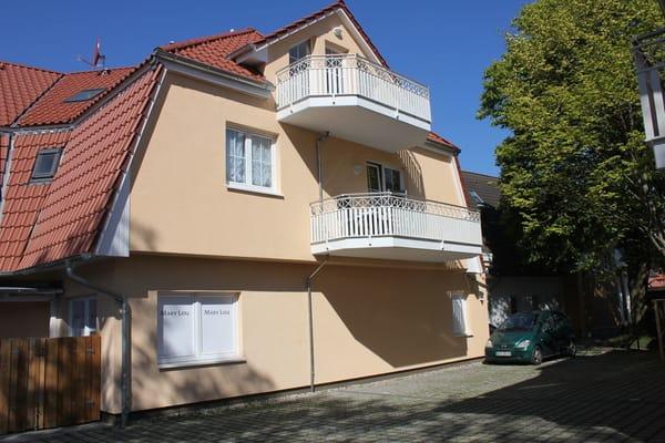 Balkon 1. Etage - Wohnzimmer