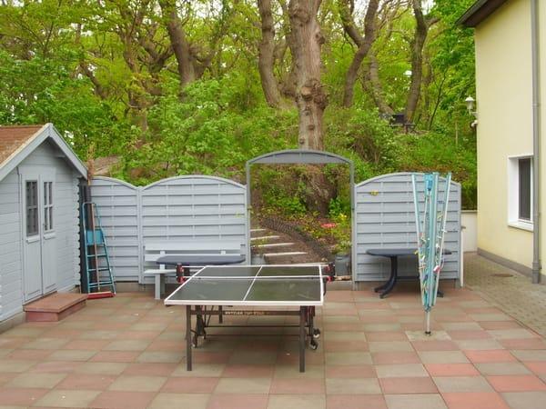 Grill, Tischtennisplatte,Sauna