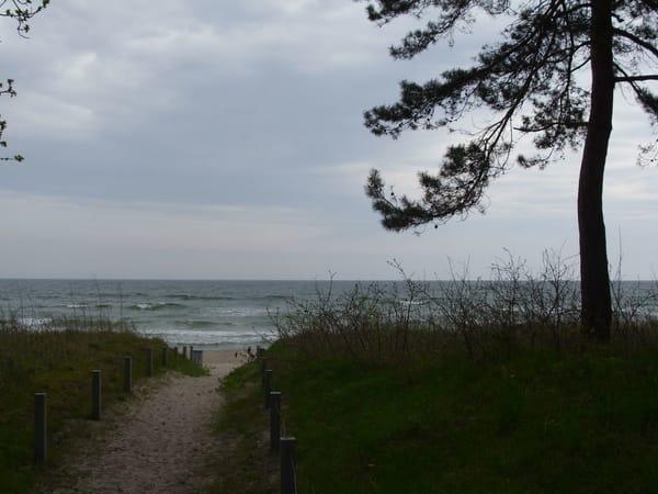 direkter Strandzugang