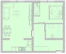 Villa Malve WE 8 Grundriss