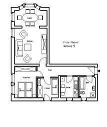 Villa Malve WE 9 Grundriss
