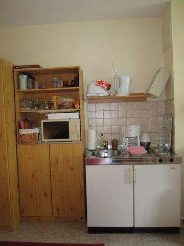integrieter Küchen-u. Kochbereich