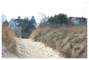 Strandzugang direkt gegenüber