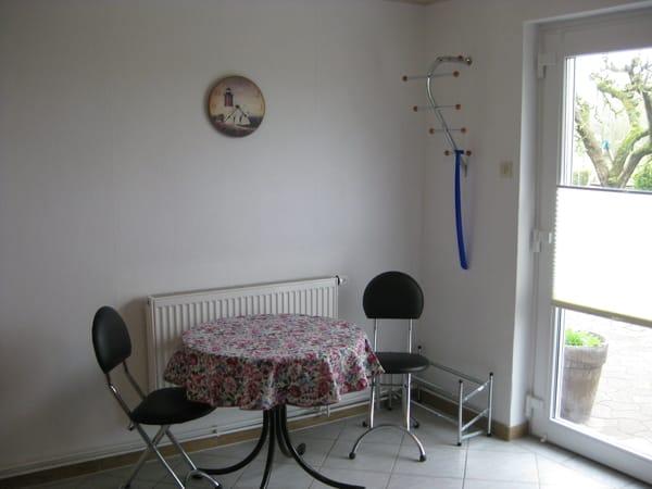 Kleine Essecke in der Wohnstube