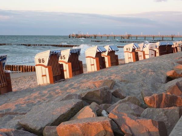 Abenstimmung am Strand