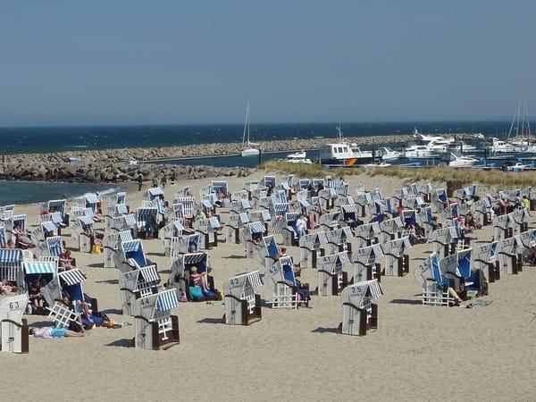 Welcher Strandkorb darf es sein?