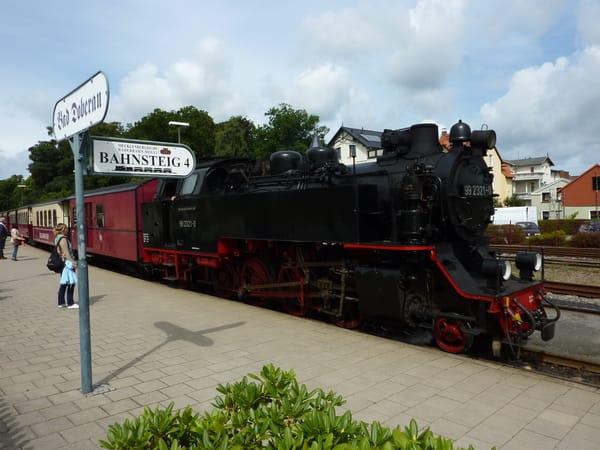 Bäderbahn mit Dampflok Molli