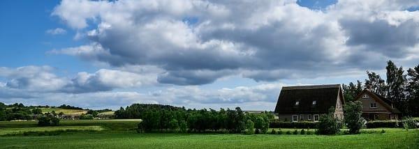 unsere Landschaft mit Ferienhaus