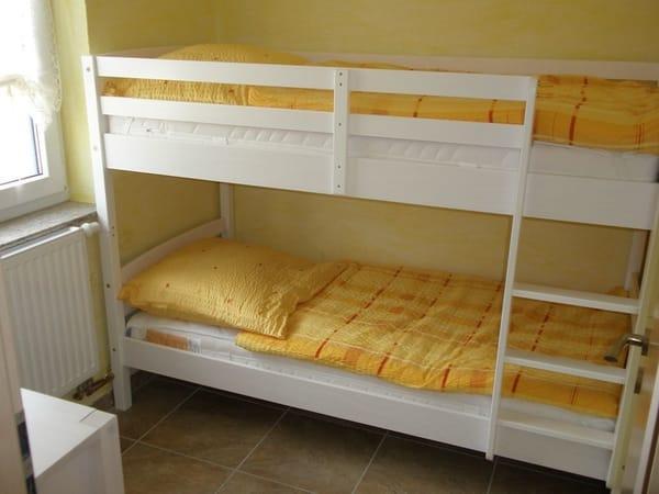 Schalfzimmer mit Etagenbett