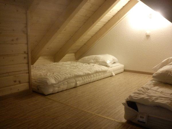 Schlafbereich im Zwischenboden