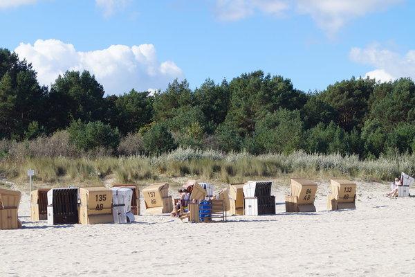 Strandleben in Ahlbeck