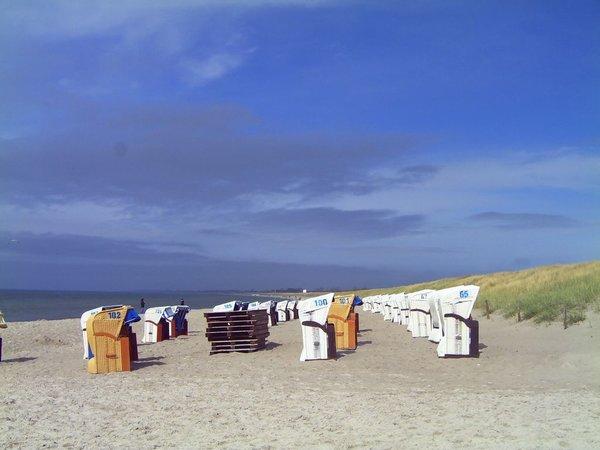 Breiter, feinsandiger Strand von Dierhagen