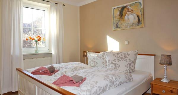 Die Matratzen im 160cm Doppelbett sind sooo gemütlich!