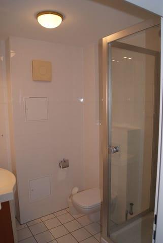 Waschtisch im Duschbad