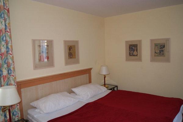 das Elternschlafzimmer der Whg 306