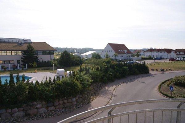 noch ein Ausblick vom Balkon der Whg 308