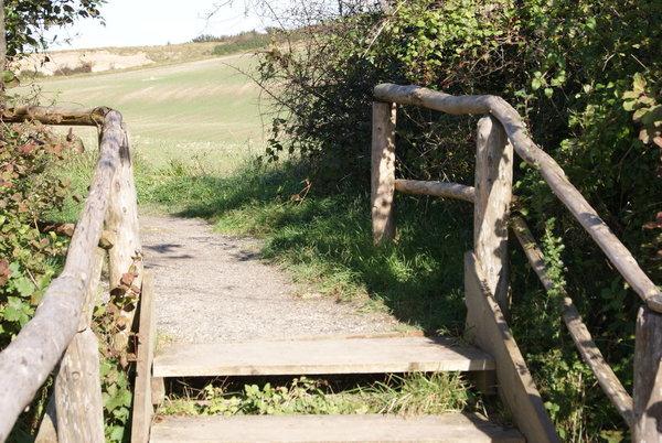 Wanderwege bei Neddesitz