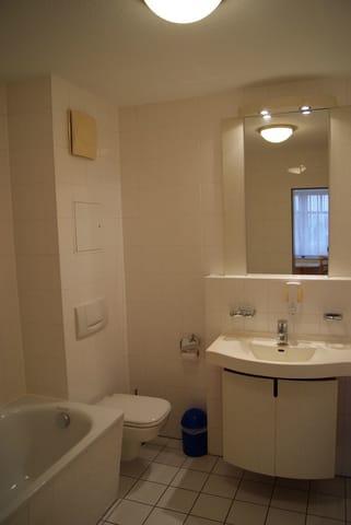 Einblick in das Badezimmer