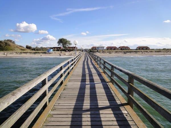 Die Seebrücke im Ostseebad Rerik