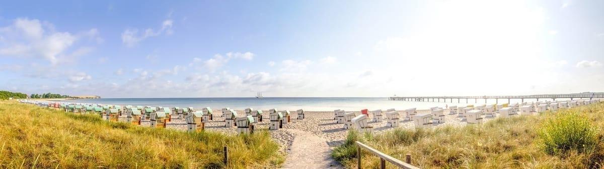 Strandleben im Ostseebad Rerik